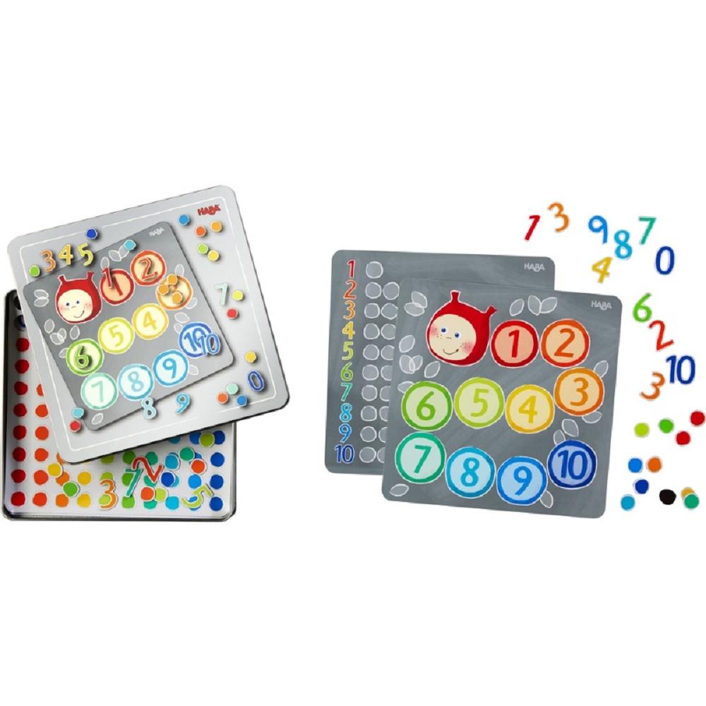 兒同館-HABA-學習磁鐵遊戲鐵盒組-數學123-2(001)