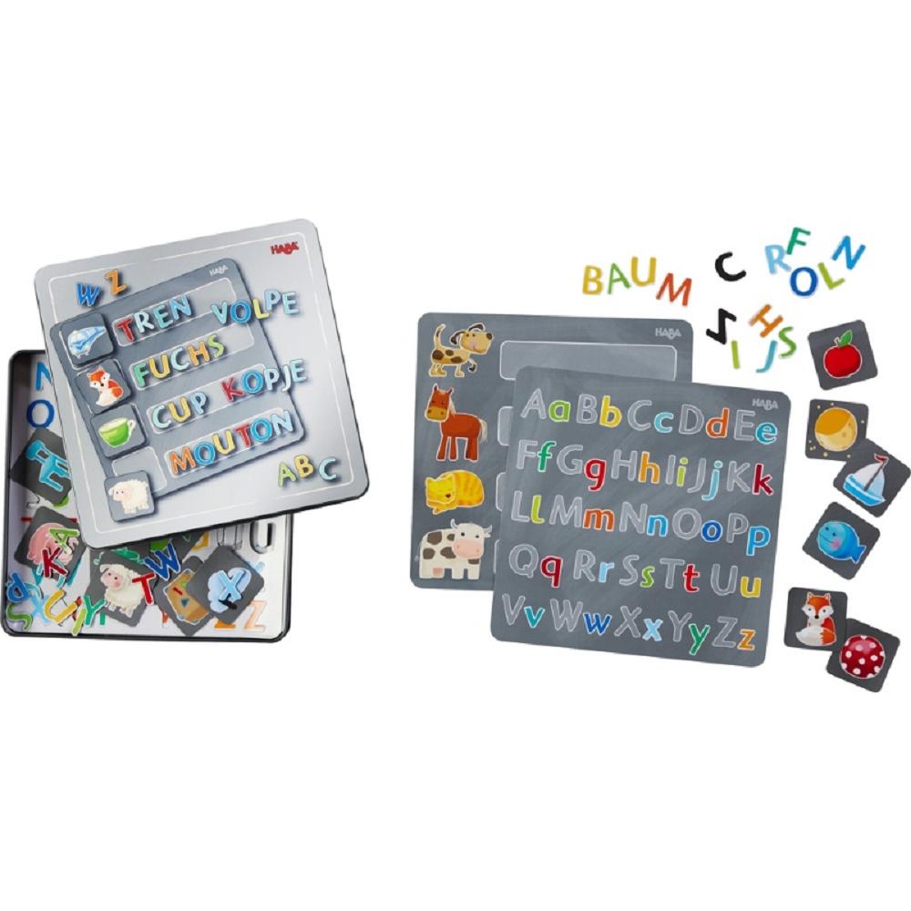 兒同館-HABA-學習磁鐵遊戲鐵盒組-英文ABC_2(001)